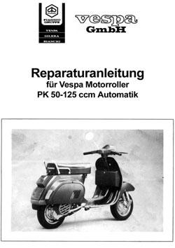 Vespa PK 50 XL Plurimatic Elestart Bj 1989 Reparatur